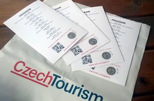 NFC nálepky na programu akce Tourism X Games